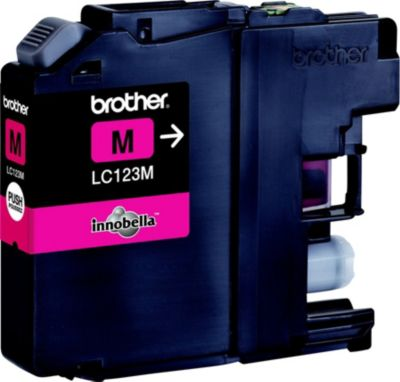 Cartouche D'encre brother lc123 magenta