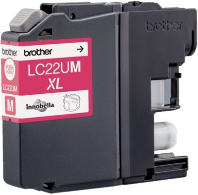 Cartouche D'encre brother lc22u magenta
