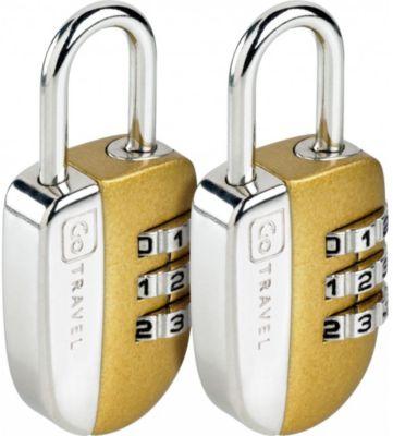 Accessoire Go travel cadenas à combinaisons (2 pièces)