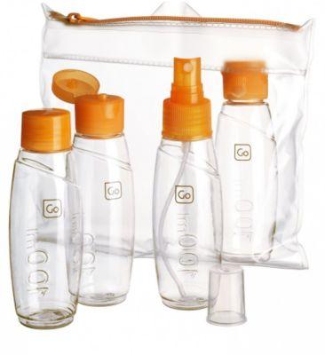 Accessoire Go travel mini bouteilles homologuées cabine