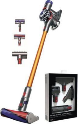 dyson v8 fullclean kit aspirateur balai boulanger. Black Bedroom Furniture Sets. Home Design Ideas