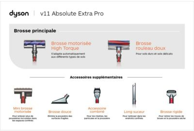 Aspi Balai DYSON V11 Absolute Extra Pro