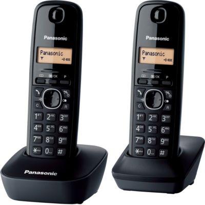 Téléphone sans fil Panasonic KX-TG1612FRH