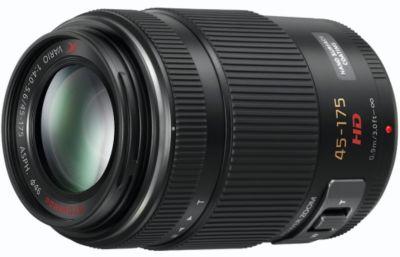 Objectif pour Hybride Panasonic 45-175mm f/4-5.6 PZ OIS noir Lumix G X