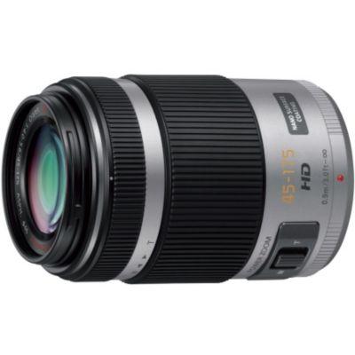 Objectif pour Hybride Panasonic 45-175mm f/4-5.6 PZ Argent Lumix G X