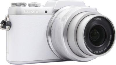 Appareil photo Hybride Panasonic DMC-GF7 blanc + 12-32mm