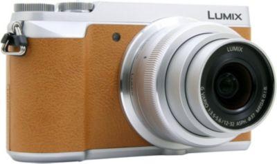 Appareil photo Hybride Panasonic DMC-GX80 Chocolat + 12-32mm