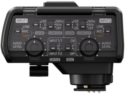 Accessoire Panasonic de microphone xlr pour le lumix gh5