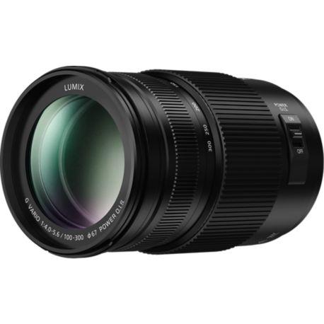 Objectif PANASONIC 100-300mm f/4.0-5.6 II OIS Lumix G Vario