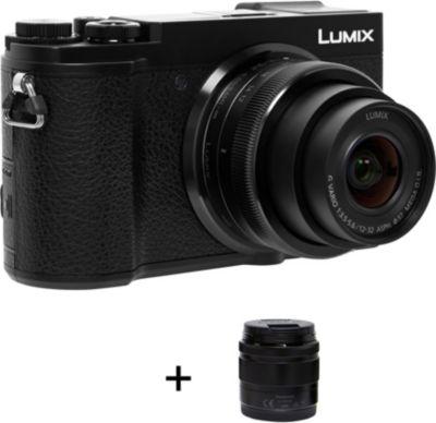 Appareil photo Hybride Panasonic DC-GX9 Noir + 12-32mm + 35-100mm