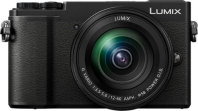 Appareil photo Hybride Panasonic DC-GX9 Noir + 12-60mm