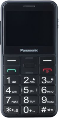 Téléphone portable Panasonic TU150 Noir