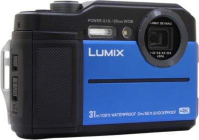Appareil Photo compact panasonic dmc-Ft7 bleu