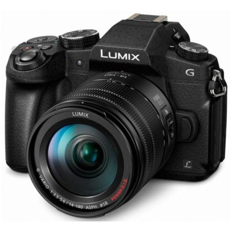 Appareil photo numérique PANASONIC G80 + 14-140mm