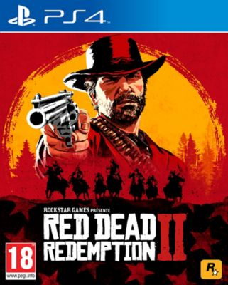 Jeu Ps4 rockstar games red dead redemption 2