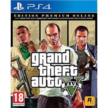 Jeu PS4 ROCKSTAR GAMES GTA V Edition Premium