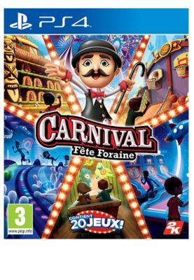 Jeu PS4 Take 2 Carnival Fête Foraine