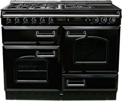 falcon classic 110 mixte noir chrome piano de cuisson. Black Bedroom Furniture Sets. Home Design Ideas