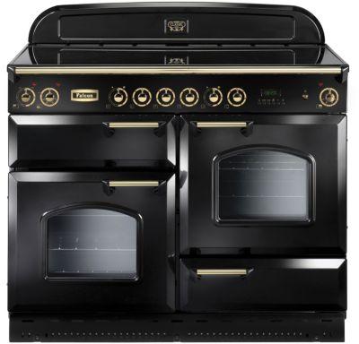 falcon clas110 vit noir laiton piano de cuisson boulanger. Black Bedroom Furniture Sets. Home Design Ideas