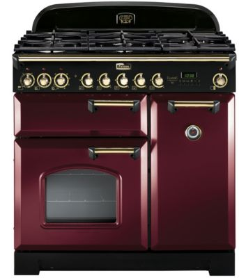 falcon delux90 rouge laiton piano de cuisson boulanger. Black Bedroom Furniture Sets. Home Design Ideas
