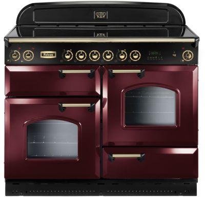 falcon clas110 vit rouge laiton piano de cuisson boulanger. Black Bedroom Furniture Sets. Home Design Ideas
