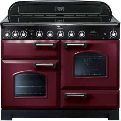 falcon delux110 induc rouge chrome piano de cuisson. Black Bedroom Furniture Sets. Home Design Ideas