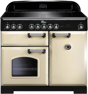 Piano de cuisson induction falcon classic deluxe induction 100 creme/