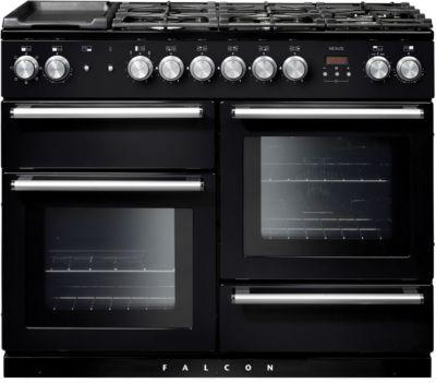 falcon nexus110 mixte noir piano de cuisson boulanger. Black Bedroom Furniture Sets. Home Design Ideas