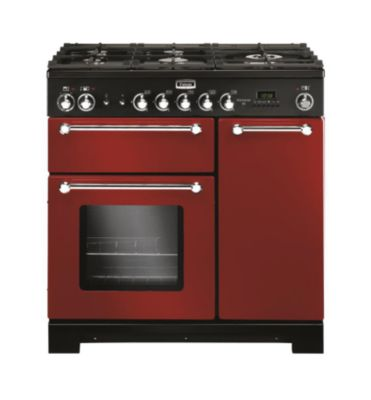 Falcon kitchener 90 mixte rouge cerise piano de cuisson boulanger - Falcon kitchener 90 inox ...