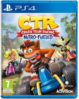 Jeu PS4 Activision Crash Team Racing Nitro Fueled
