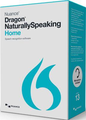 Logiciel de bureautique Nuance Dragon Naturally Speaking Home V 13