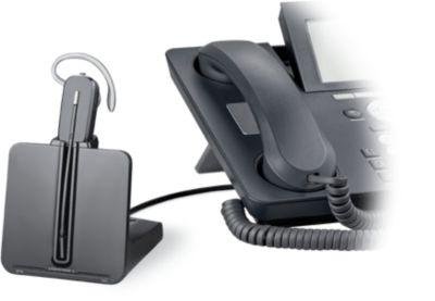 Casque Micro téléphone fixe plantronics cs540a apa-23 conv emea