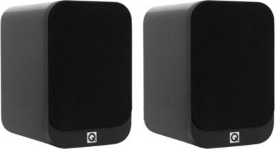 Enceinte bibliothèque Q Acoustics Q3020 LAQUEE NOIRE X2