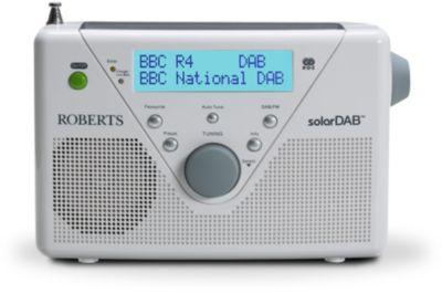 Radio numérique Roberts SOLAR DAB2 blanche