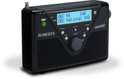 Radio numérique Roberts SOLAR DAB2 noire