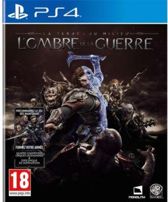 Jeu PS4 Warner La Terre du Milieu L'Ombre de la Guerre