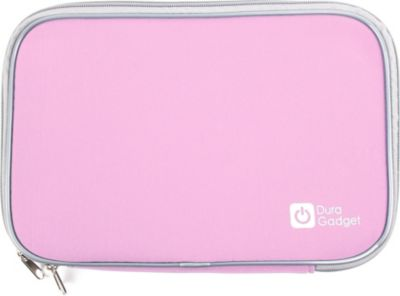 Duragadget rose ordinateur tablette 17 5 sacoche for Housse tablette boulanger