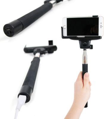 Duragadget perche selfie stick t l commande support for Perche selfie boulanger