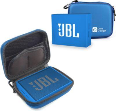 duragadget bleu pour jbl go enceinte portable accessoire dock enceinte boulanger. Black Bedroom Furniture Sets. Home Design Ideas