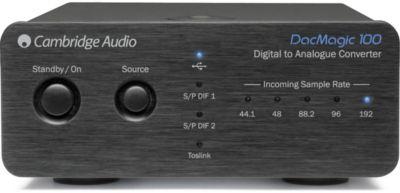 DAC audio Cambridge Audio DacMagic 100 Black