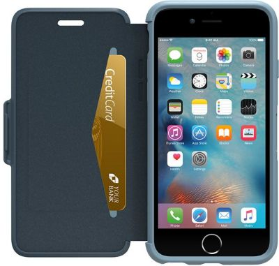 accessoire iphone otterbox symmetry iphone 6 6s bleu boulanger. Black Bedroom Furniture Sets. Home Design Ideas