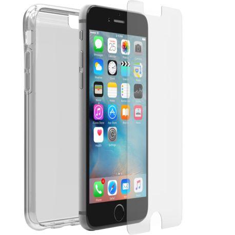 pack otterbox iphone 7 8 clear skin alpha glass. Black Bedroom Furniture Sets. Home Design Ideas
