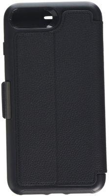 Coque + protège écran otterbox iphone 7/8 plus strada cuir noir
