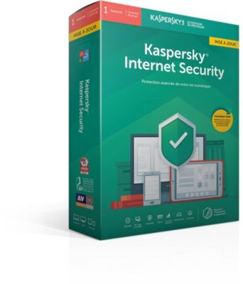 Logiciel Antivirus et optimisation kaspersky internet security 2019 mise à jo (1p/1a)