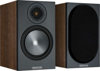 Enceinte bibliothèque Monitor Audio Bronze 50 Walnut