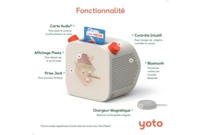 Jeu YOTO Player - Lecteur de cartes audi