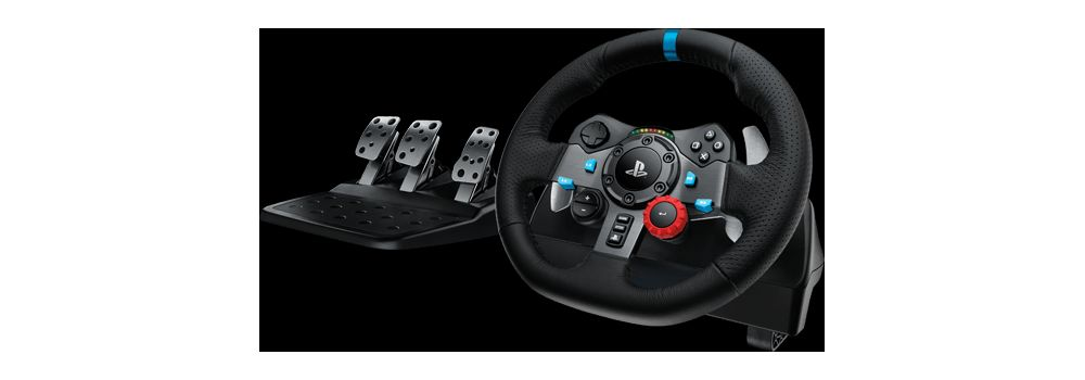 Volant simulation auto gamer Logitech G29 compatible PC PS3 PS4