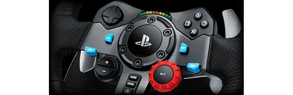 Volant compatible PC PS3 PS4 G29 Driving Force Logitech