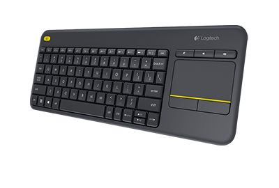 Clavier LOGITECH K400 Plus Black