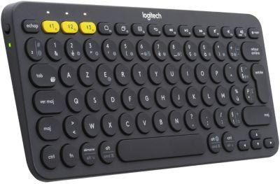 Clavier sans fil Logitech K380 Bluetooth Gris